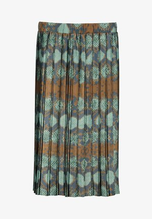 Pleated skirt - multicolor