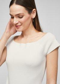 s.Oliver - Basic T-shirt - white - 3