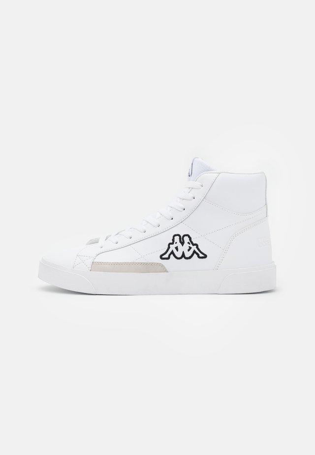 LOLLO MID UNISEX - Sports shoes - white/black