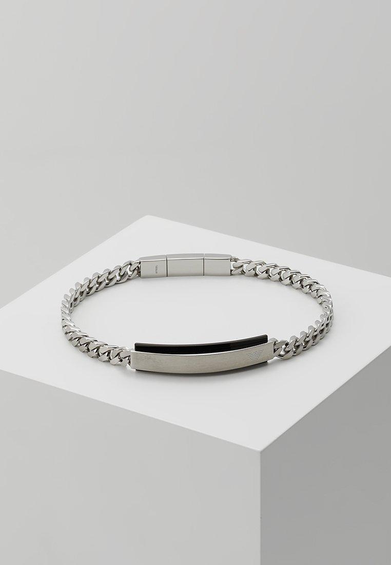 Emporio Armani - Náramek - black/silver-coloured