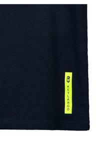 Key Largo - BT FASTER  - Print T-shirt - navy - 4