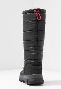 Hunter ORIGINAL - WOMEN'S ORIGINAL INSULATED TALL - Zimní obuv - black - 5