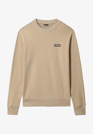 Sweatshirt - mineral beige