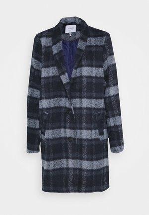 BYCITTA COAT  - Classic coat - peacoat combi