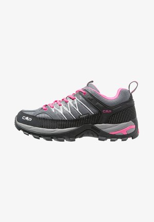 RIGEL LOW TREKKING SHOE WP - Fjellsko - grey/fuxia/ice