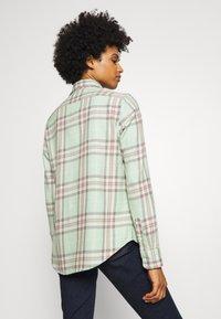Polo Ralph Lauren - GEORGIA LONG SLEEVE BUTTON FRONT - Button-down blouse - green/multi - 2