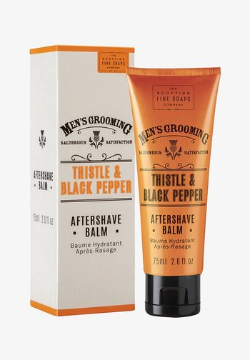 MEN'S GROOMING THISTLE   BLACK PFEFFER AFTERSHAVE BALM