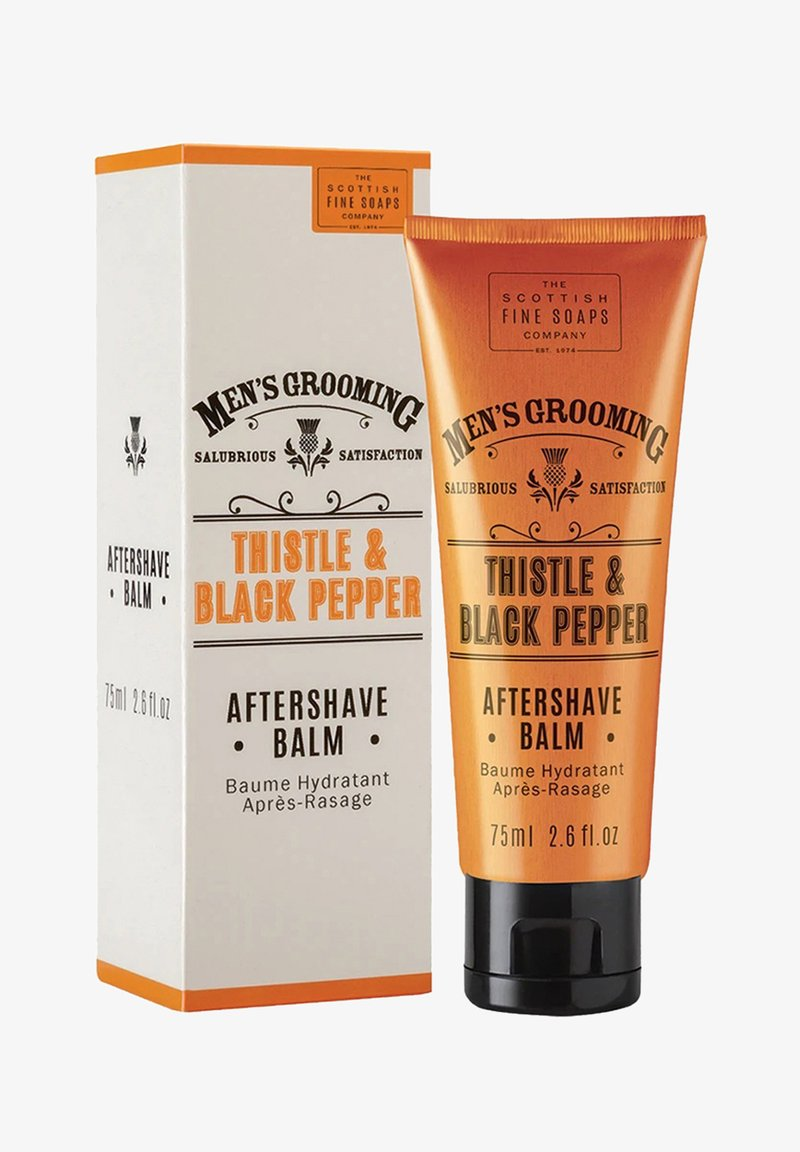 The Scottish Fine Soaps Company - MEN'S GROOMING THISTLE   BLACK PFEFFER AFTERSHAVE BALM - Aftershave balm - -