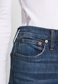 Madewell - PERFECT VINTAGE BUTTON FRONT - Straight leg jeans - barnsdale wash - 6