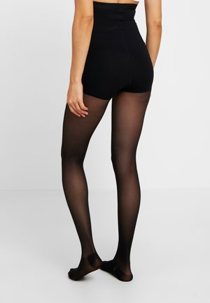 30 DEN WOMAN SHAPE TIGHTS TRANSLUCENT - Sukkahousut - black