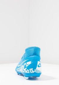 Nike Performance - MERCURIAL 7 CLUB FG/MG - Moulded stud football boots - blue hero/white/obsidian - 3