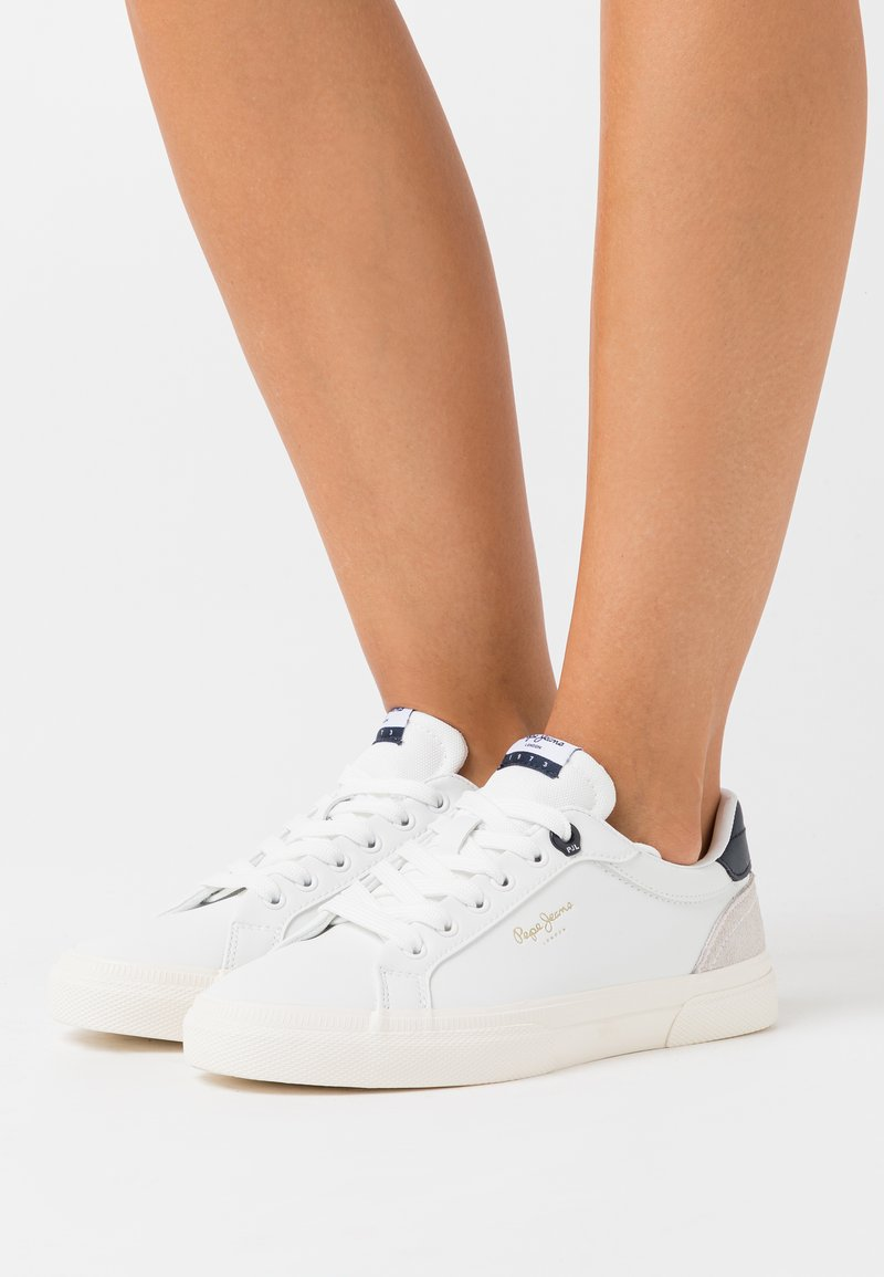 Pepe Jeans - KENTON BASIC WOMAN - Trainers - white