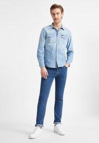 Lee - RIDER - Straight leg jeans - mid stone - 1