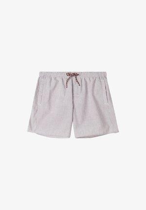 Swimming shorts - cinnamon/bianco
