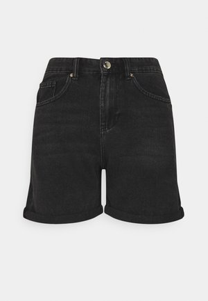 ONLPHINE LIFE - Shorts vaqueros - black denim