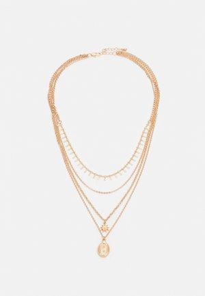 PCSKIA COMBI NECKLACE - Necklace - gold-coloured
