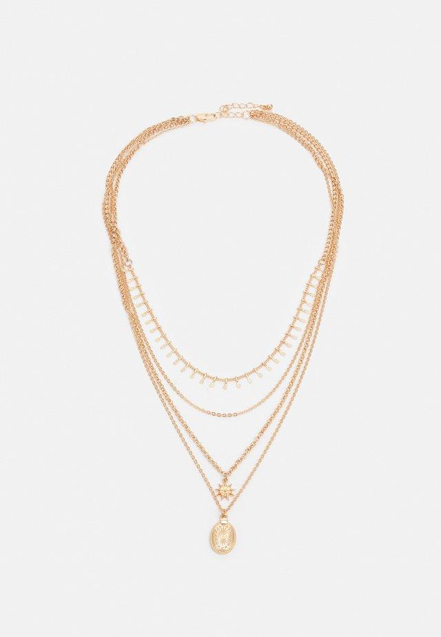 PCSKIA COMBI NECKLACE - Collier - gold-coloured
