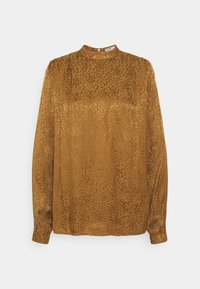 b.young - BYFINULA BLOUSE - Blouse - golden olive - 0