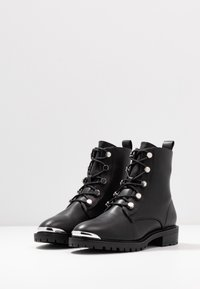 Even&Odd - Bottines à lacets - black - 4