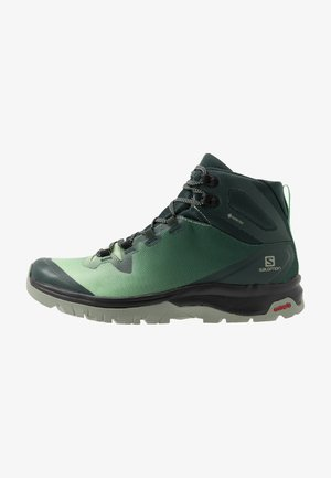 VAYA MID GTX - Hiking shoes - green gables/spruce stone/shadow