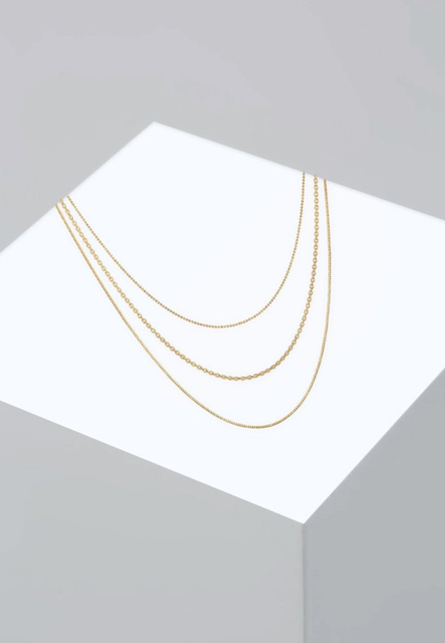 BLOGGER - Necklace - gold-coloured