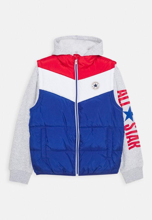 ALL STAR PUFFER VEST JACKET - Winter jacket - converse blue