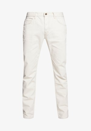 RIDER BUTTON FLY - Slim fit jeans - white denim off-white