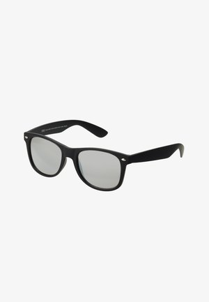 SUNGLASSES LIKOMA MIRROR WITH CHAIN - Sunglasses - black/silver