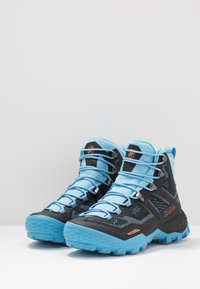 Mammut - DUCAN HIGH GTX WOMEN - Hiking shoes - black/whisper - 2