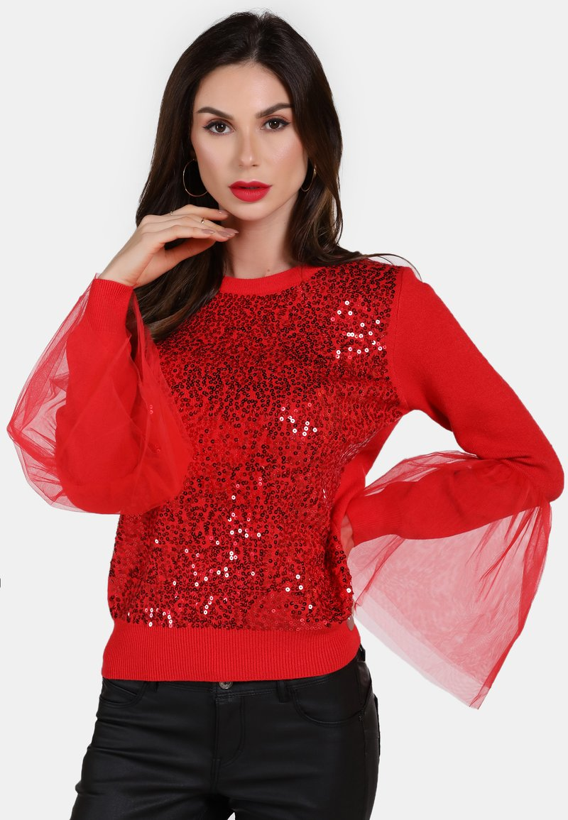 faina - Jumper - red