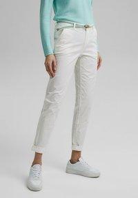Esprit - FLOW - Chinos - white - 4