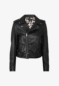 Oakwood - RADIO - Veste en cuir - black - 4