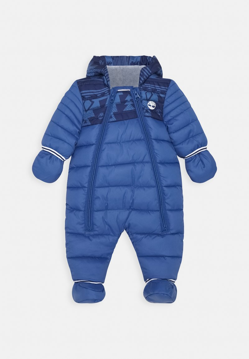 Timberland - ALL IN ONE BABY  - Snowsuit - blue