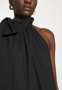 MICHAEL Michael Kors - HALTER TIE NECK DRESS - Koktejlové šaty/ šaty na párty - black - 5
