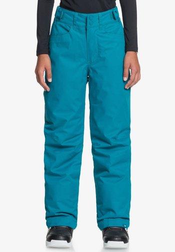 Snow pants - ocean depths