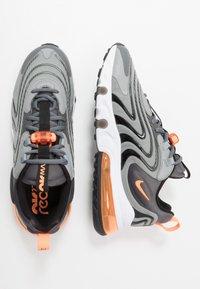 Nike Sportswear - AIR MAX 270 REACT - Sneakers - iron grey/total orange/particle grey/black/white - 1