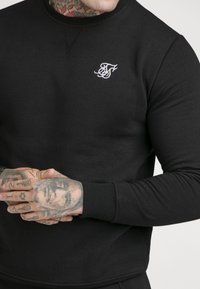 SIKSILK - SIKSILK CREW - Sweatshirt - black - 4