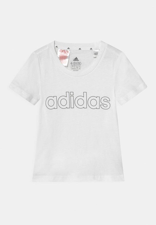 UNISEX - T-Shirt print - white/black