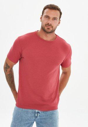 T-shirt basic - burgundy