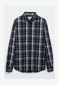 Massimo Dutti - SLIM FIT - Shirt - blue black denim - 1