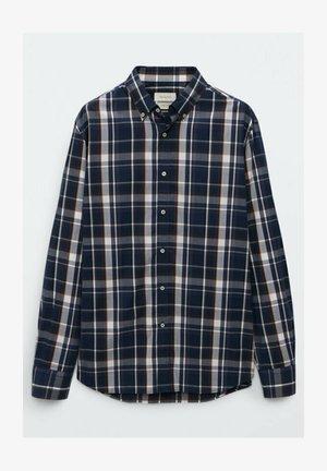 SLIM FIT - Skjorta - blue black denim