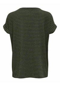 ONLY - Print T-shirt - deep lichen green - 1
