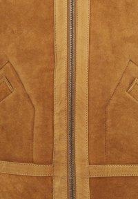 Serge Pariente - KENNEDY - Leather jacket - camel - 6