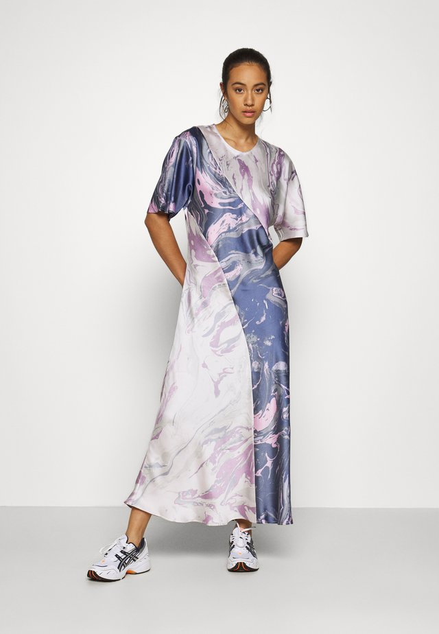TEA DRESS - Robe longue - marble