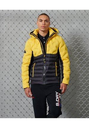 RADAR QUILT FUJI - Winter jacket - cyber yellow