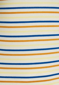 TOM TAILOR DENIM - STRIPED MOCKNECK TEE - Print T-shirt - creme/blue/yellow - 2