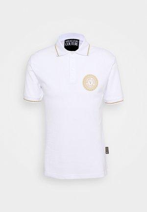 ADRIANO LOGO - Koszulka polo - bianco