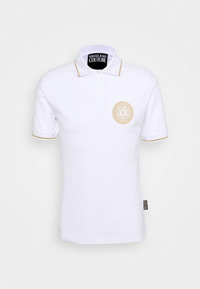ADRIANO LOGO - Polo shirt - bianco