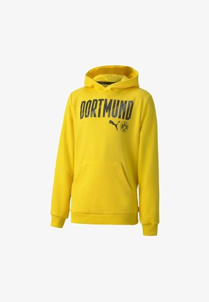 FTBLCORE WORDING  - Club wear - cyber yellow/black