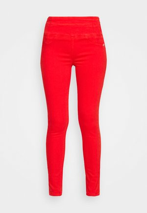 PANTS - Jeggings - scala red